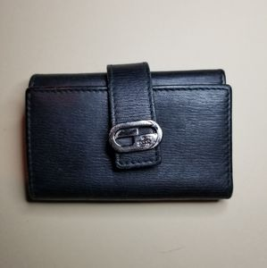 GUCCI  Beautiful Black  leather Key Holder